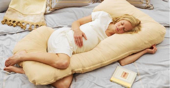 здоровый сон беременной женщины
