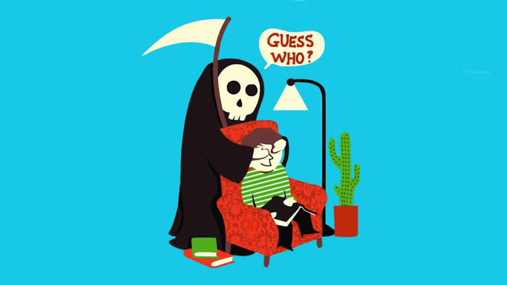 смерть с юмором